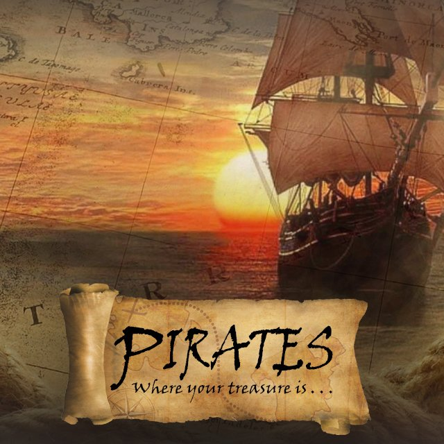 Pirates! Where your treasure is… Treasure in a Jar