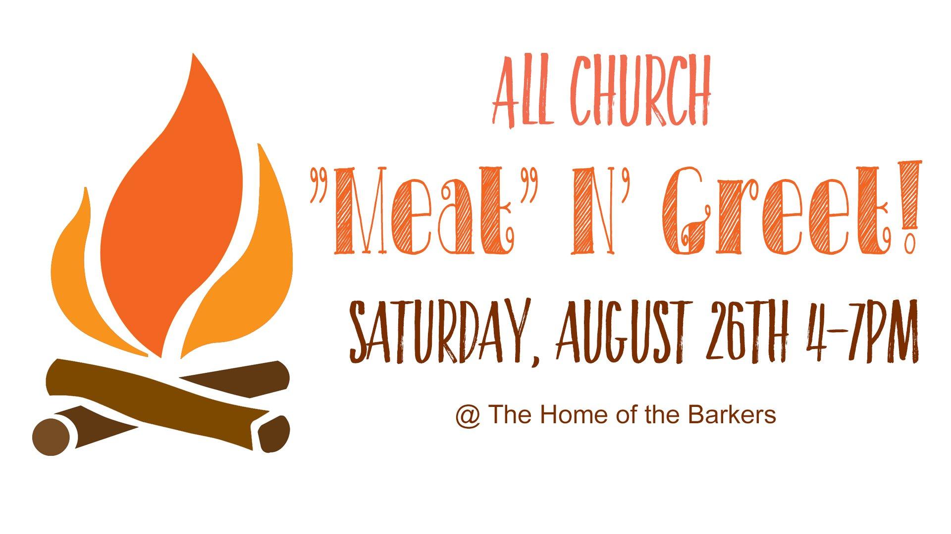 Meat N Greet Harvest Christian Church