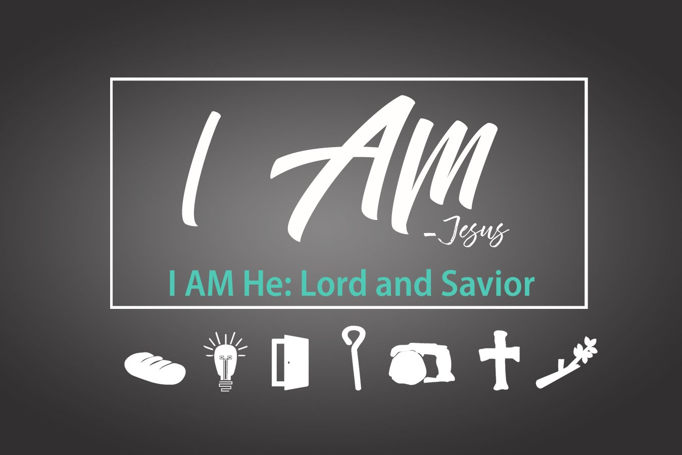 "I Am He: ""Lord and Savior"""