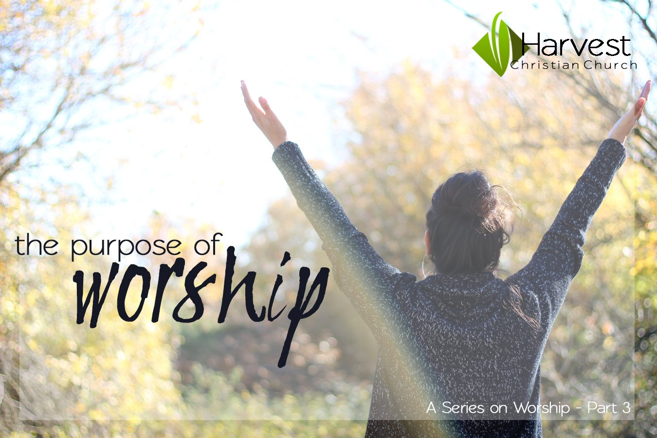 The Purpose of Worship
