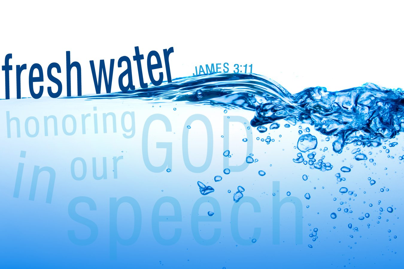 Fresh Water: The Surface of Faith