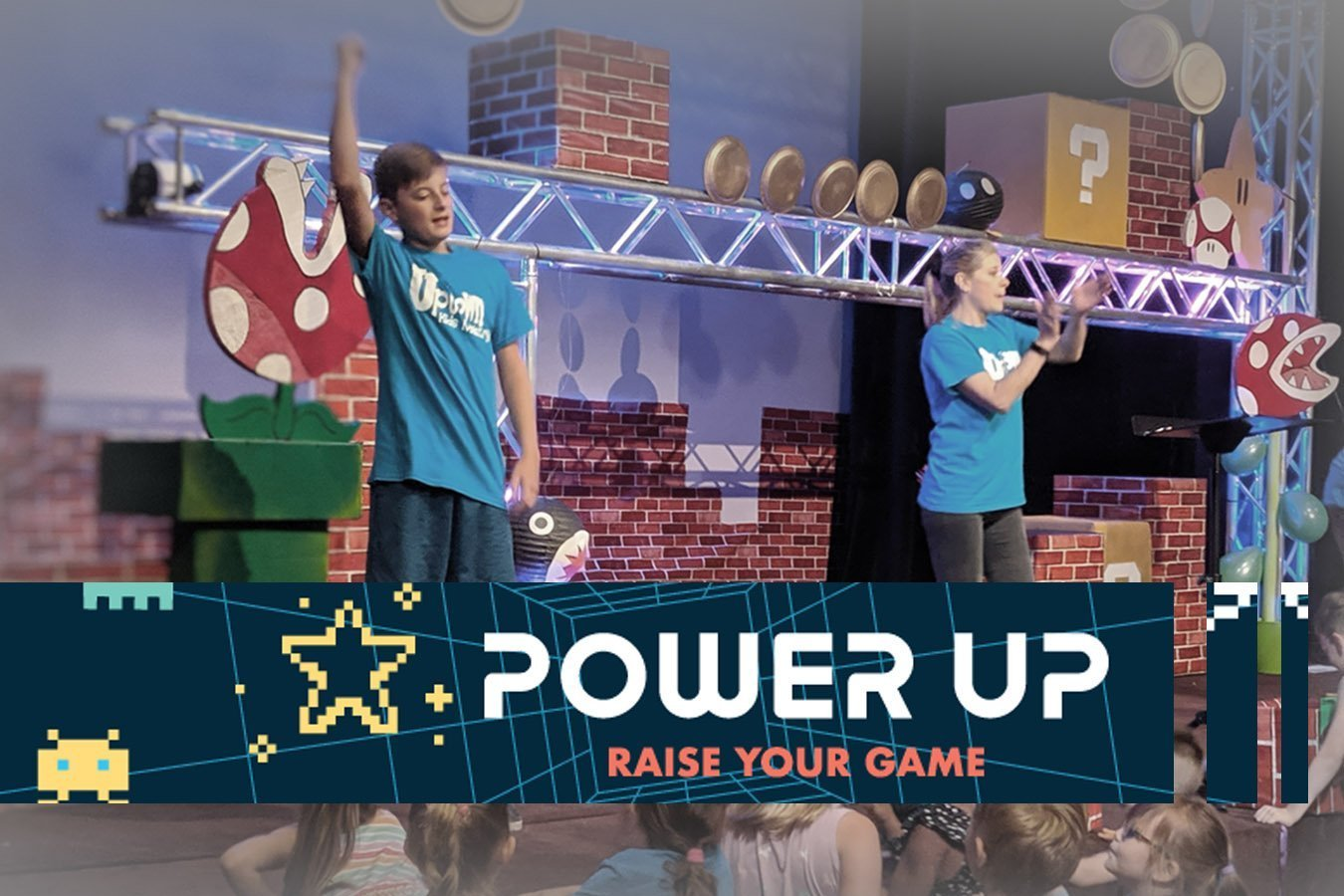 Power Up was a Blast!