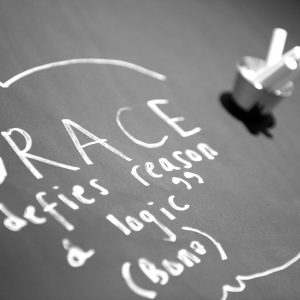 Struggling with Grace