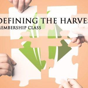 Defining the Harvest